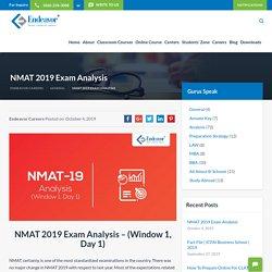 NMAT 2019 Exam Analysis