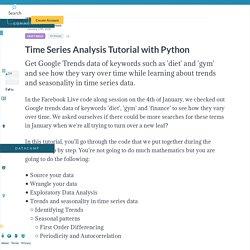 Python Time Series Analysis Tutorial (article)