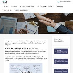 Patent Firm for valuation & Consultation