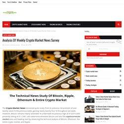 Analysis Of Weekly Crypto Market News Survey