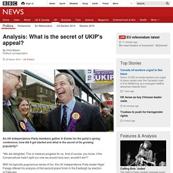 Analysis: What is the secret of UKIP's appeal?