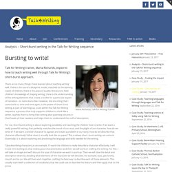 Analysis – Short-burst writing in the Talk for Writing sequence – Talk for Writing