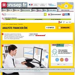 analyste financier - analyste financière