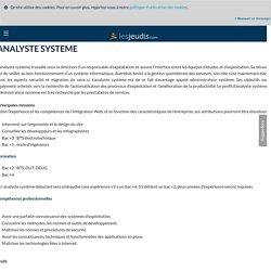 ANALYSTE SYSTEME