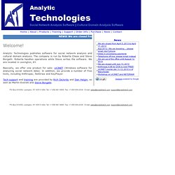 Analytic Technologies