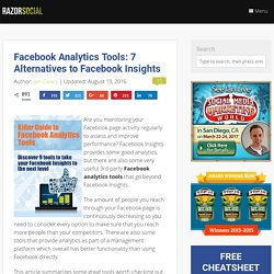 Facebook analytics tools - 7 Alternatives to Facebook Insights