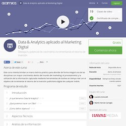 Data & Analytics aplicado al Marketing Digital » Clases