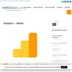Analytics - Atelier - WebAssoc