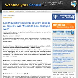 Web Analytics : outil de mesure d'audience internet