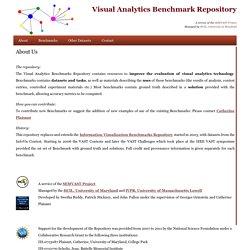 Visual Analytics Benchmark Repository