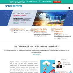 Data Analytics Certification in India
