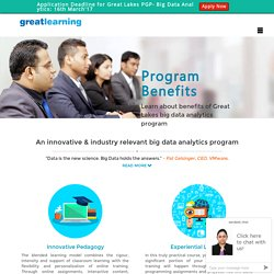 big data analytics training in India