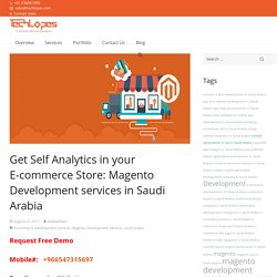 Get Self Analytics in your Magento E-commerce Store