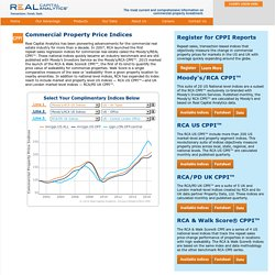 Commercial Property Price Indices