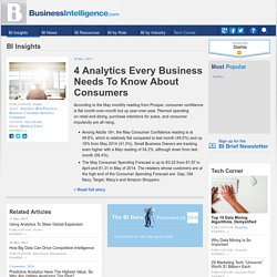 4 Analytics Every Business Needs To Know About Consumers