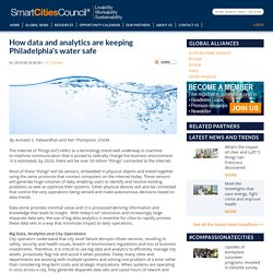 How data and analytics are keeping Philadelphia's water safe