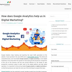 How does Google Analytics help us in Digital Marketing – Digital Catalyst