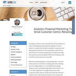 Analytics Powered Marketing To Drive Customer Centric Retailing