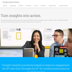 Analytics Official Website – Web Analytics & Reporting