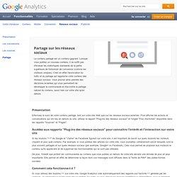 GoogleAnalytics et le partage sur les réseaux sociaux – GoogleAnalytics
