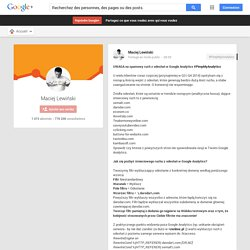 UWAGA na spamowy ruch z odesłań w Google Analytics #PimpMyAnalytics U wielu…