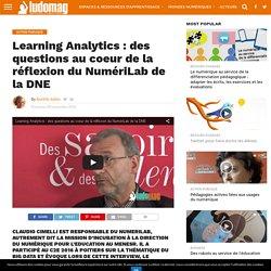Learning Analytics : des questions au coeur de la réflexion du NumériLab de la DNE – Ludovia Magazine