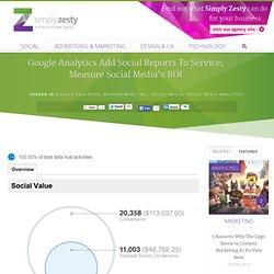 Google Analytics Add Social Reports To Service; Measure Social Media's ROI