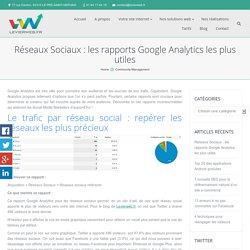 Google Analytics pour les réseaux sociaux : quels rapports ?