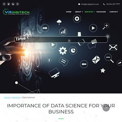 Data Analytics Companies in India - VR Digitech