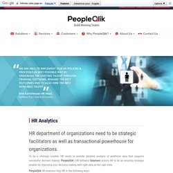 HR Analytics Software by PeopleQlik
