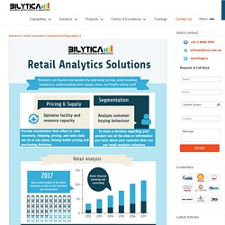 Advance retail analytics solutions by Bilytica