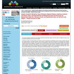 Speech Analytics Market Solutions & Services