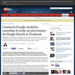 Comment Google Analytics surestime le trafic en provenance de Google Search et Facebook