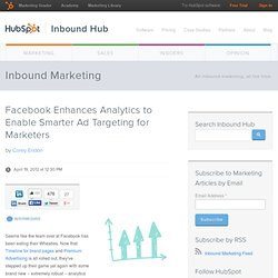 Facebook Enhances Analytics to Enable Smarter Ad Targeting for Marketers