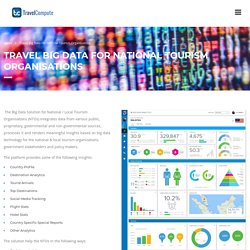 Travel Big Bata For NTOs, Tourism & Travel Analytics