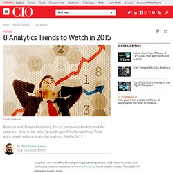 8 Analytics Trends to Watch in 2015