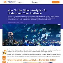 How to Use Video Analytics to Understand Your Audience