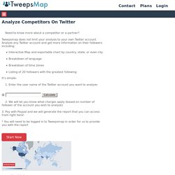Analyze Competitors On Twitter