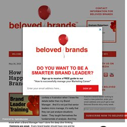 How to Analyze What's Happening on Your Brand « Beloved Brands