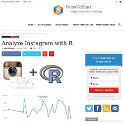 Analyze Instagram with R - ThinkToStart