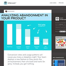 Analyzing Abandonment in Your Product