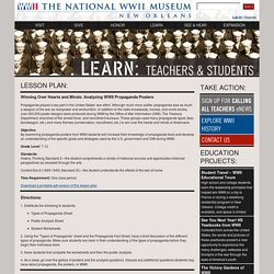 For Teachers: Lesson Plans: Analyzing WWII Propaganda Posters