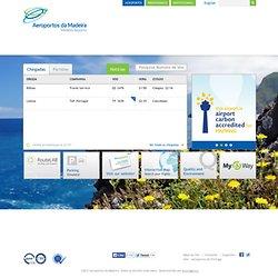 Site de l'aéroport de Funchal - EN