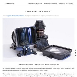 Anamorphic on a Budget – TFerradans.
