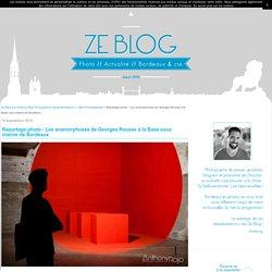 Reportage photo - Les anamorphoses de Georges Rousse à la Base sous marine de Bordeaux - Ze Blog par Anthony Rojo Photographe presse Bordeaux