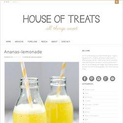 Ananas-lemonade
