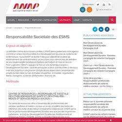 -Responsabilité Sociétale des ESMS