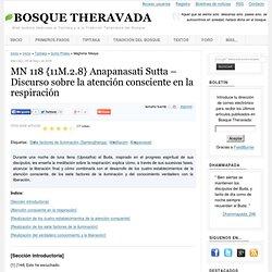MN 118 {11M.2.8} Anapanasati Sutta – Discurso sobre la atención consciente en la respiración