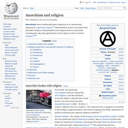 Anarchism and religion - Wikipedia