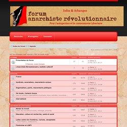 Forum Anarchiste Révolutionnaire
